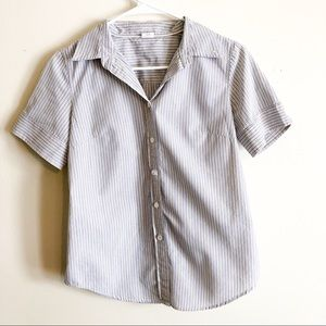J. Crew  short sleeved button down